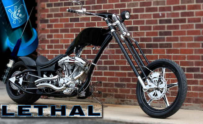 Custom choppers model: Lethal