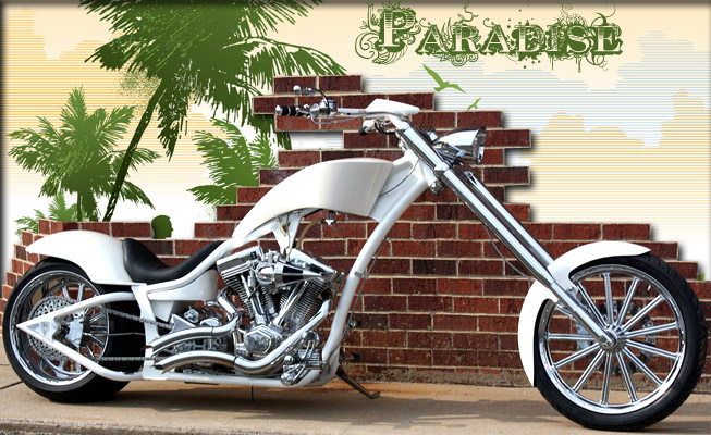 Custom Choppers design: Paradise